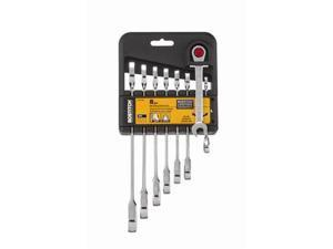 BTMT72268 8-Piece Combination Anti-Slip Metric Ratcheting Wrench Set
