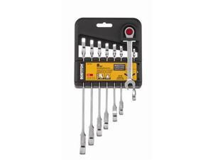 BTMT72269 8-Piece Combination Anti-Slip SAE Ratcheting Wrench Set