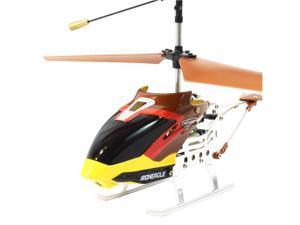 Groovy Toys G100037-R RC Micro IR Metal Iron Eagle Helicopter - Red