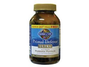 Garden Of Life Primal Defense Ultra, 216 Capsules Bonus Pack 20% Free!