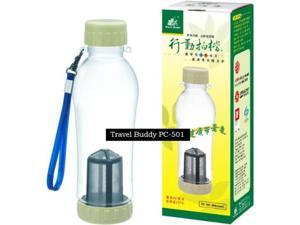 Travel Buddy Teapot (PC-501)-580ml Hot & Cold Dual Use Healthy Environmental Walk-cup
