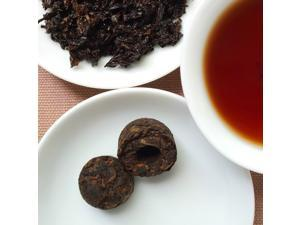 Pu'er Tea Bricks with High Quality (100g)- China Yunnan Dark Black Tea (2 Packs/Set)