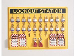 Departmental Complete Lockout Station Includes:  3D,  Ela290, (6...