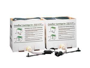 Fend-All Sterile Saline Refill Cartridge Set For Fendall Pure Flow 1000 Eye W...