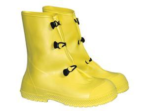 """Large Yellow 12"""" Pvc 3 Button Overboots 12"""" Pvc 3 Button Overboots"""