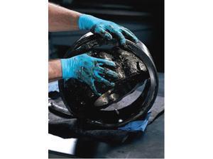"Kimberly-Clark Large Blue 9.5"" Kleenguard* G10 6 Mil Nitrile Ambidextrous Pow..."