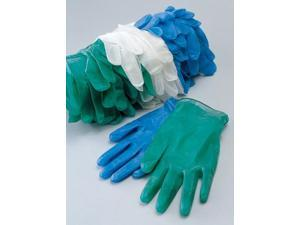 Small Blue 5 Mil Vinyl Non-Sterile Lightly Powdered Disposable Gloves ...