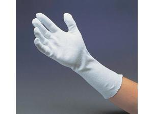 "Men's 14"" Light-Weight Cotton Unhemmed Reversible Inspection Glove (ct 12)"