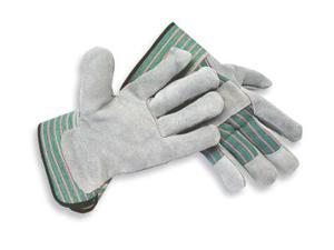 Large Select Shoulder Grade Split Leather Palm Gloves