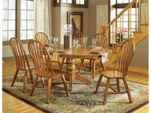 Steve Silver Skoal 7 Piece Dining Table Set