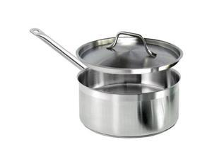 Excellante 4 1/2 QT 18/8 Stainless Steel Sauce Pan - Each