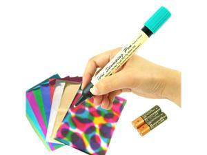 einHEAT, Hot Foil Pen, 12 Sheets Foils included, 6 Colors Assortment (HSP-012)