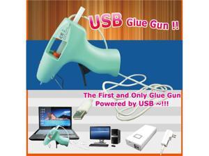 einHEAT, 2.5 Watt USB Powered Glue Gun, includeds 12pcs Glue Sticks