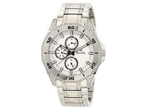 Bulova Mens Crystal Quartz 96C110 Watch