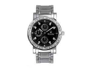 Bulova Men's Diamond Collection watch #96E04