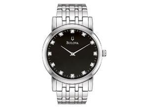 Bulova Diamond Mens Watch 96D106
