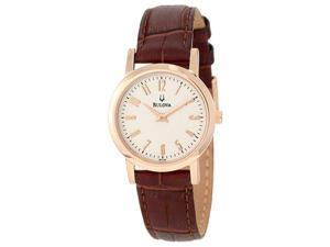 Bulova Womens Strap Quartz 97L121 Watch