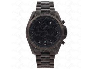 Michael Kors Bradshaw Chrono Black Dial Black Ion-plated Unisex Watch MK5550
