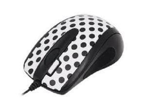 G-Cube GLBW-73PD Super Precision Wired G-Laser Mouse (Polka Dottie Design Style) able to run on almost All kinds of desktop ...