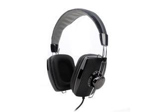 G-Cube iHL-500S Luxury Leather Dual Mode Headset with Microphone (Black)