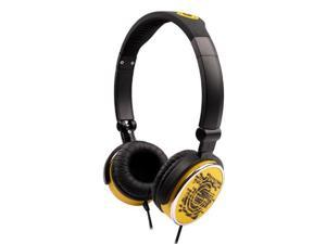 G-Cube iHP Pop-G Dual Mode Foldable Headset w/ Built-In Mic (Yellow)