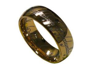 Lord of Ring 8mm Mens Tungsten Carbide Wedding Band Ring