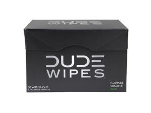 DUDE PRODUCTS Dude Wipes - 30 Flushable Single Wipes