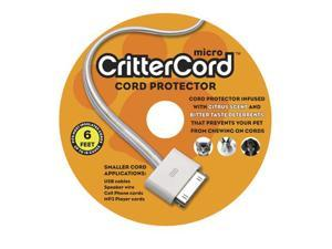 Crittercord - Micro Cord Protector. Prevents you pets from chewing on Cords.