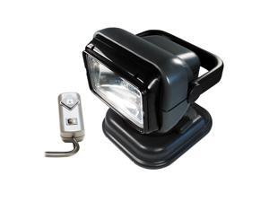 Go Light 12 Volt Portable Go Light W/Wrd Remote Gry 5149
