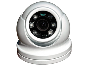 Iris Miniature Dome Camera - Reverse Image - NTSC