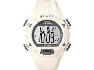 Timex Expedition Shock Chrono Alarm Timer - White