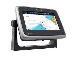 "Raymarine a75 Wi-Fi 7"" MFD Touchscreen - Navionics North America Gold +3,000 Lakes & Rivers"