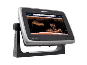 "Raymarine a78 Wi-Fi 7"" MFD Touchscreen w/CHIRP DownVision, ClearPulse & CPT-100 - NA Gold +3000 Lake/Rivers"