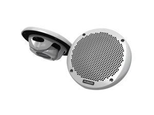 """FUSION 6"""" Shallow Mount Speaker - (Pair) White"""