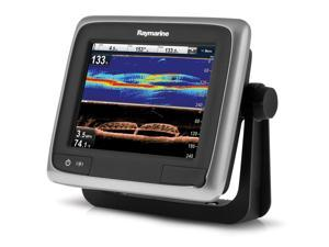 "Raymarine a68 5.7"" MFD Touchscreen w/CHIRP DownVision™ & CPT-100 - North American Gold Bundle"