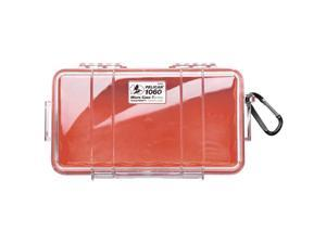 Pelican 1060 Micro Case w/Clear Lid - Red