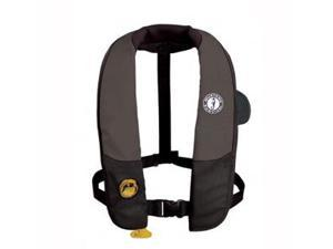 MUSTANG SURVIVAL MD3183-U-BK/CR Mustang deluxe automatic inflatable pfd - black/carbon