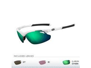 Tifosi Tyrant 2.0 Golf Interchangeable Sunglasses - Matte White