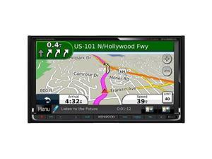 Kenwood In-Dash Double-DIN Navigation DVD Receiver - DNX9990HD