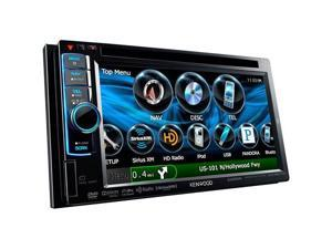 Kenwood Excelon In-Dash Double-DIN Navigation DVD Receiver - DNX6990HD