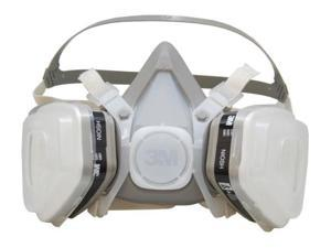 3M Dual Cartridge Paint Respirator Assembly LARGE Size Half Facepiece 07193