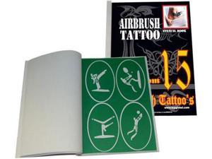 Airbrush Tattoo Stencil Set 15 Template Set