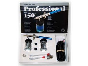 """New Badger 150-7 PROFESSIONAL """"CLASSIC"""" AIRBRUSH SET Pro Kit with 3 Tips"""