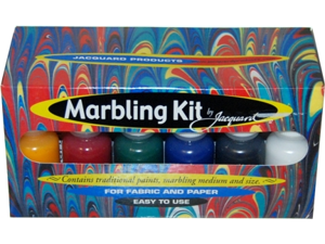 NEW Jacquard MARBLING KIT Marble Effect on Fabric Paper