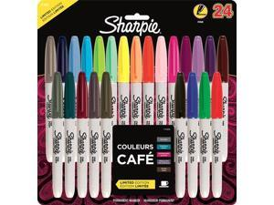 Sharpie 80's Glam Color Fine Point Permanent Markers 24-pk