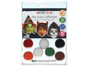 SNAZAROO Scary Halloween FACE PAINT PAINTING KT Costume