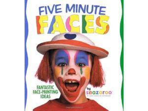 SNAZAROO FIVE MINUTE FACES FACE PAINT BOOK Halloween