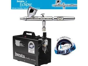 Iwata 4221 HP-CS Airbrush Kit W/IS875 Smart Jet Pro Comprssr