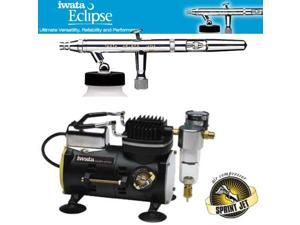 IWATA Eclipse HP-BCS AIRBRUSH Sprint Jet AIR COMPRESSOR