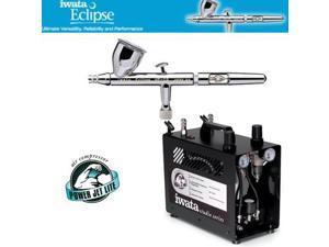 IWATA Eclipse HP-CS AIRBRUSH Power Jet Pro COMPRESSOR